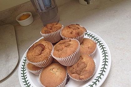 Apfelmuffins mit Zimtkruste 22