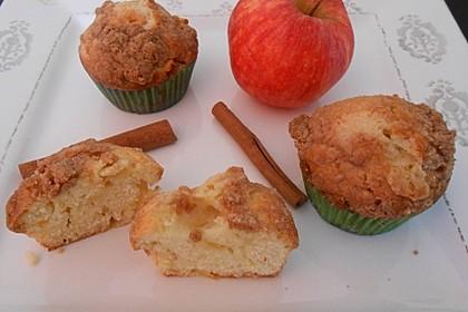 Apfelmuffins mit Zimtkruste 3