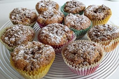 Apfelmuffins mit Zimtkruste 6