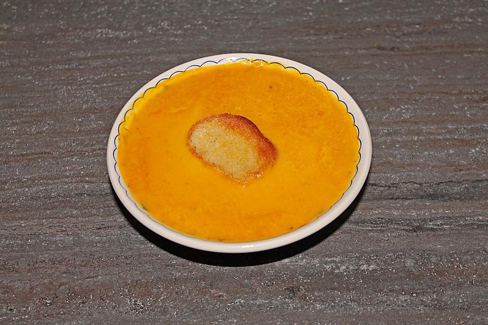 kürbis-möhren suppe (rezept mit bild) von javanne321 | chefkoch.de - Kürbissuppe Rezept Chefkoch