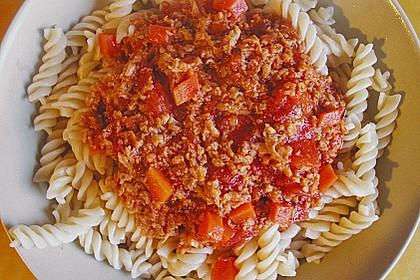 Vegane Seitan - Bolognese