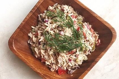Thunfisch - Reis - Salat 4