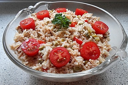 Thunfisch - Reis - Salat 2