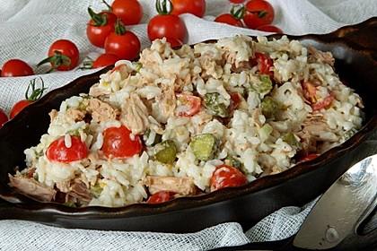 Thunfisch - Reis - Salat 3