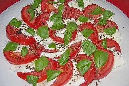 Tomaten - Mozzarella - Salat 1