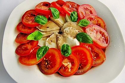 Tomaten - Mozzarella - Salat 7