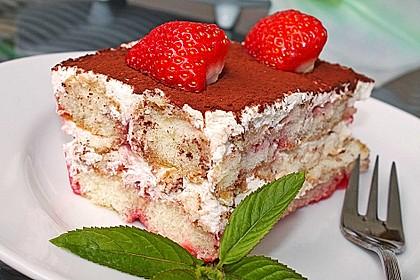 Erdbeer - Tiramisu 1