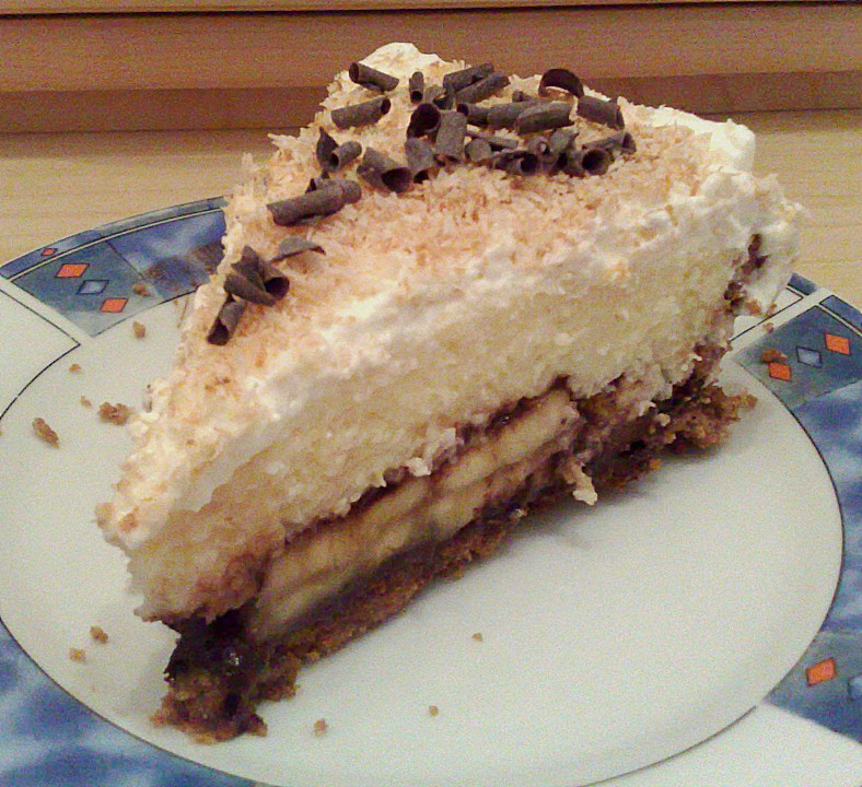 Chocolate - Coconut - Banana - Cream Pie (Rezept mit Bild) | Chefkoch ...