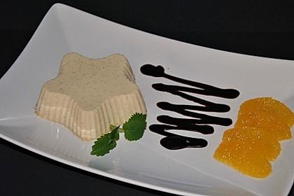 Orangen-Panna cotta 1