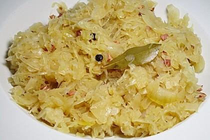 Sauerkraut auf westfälische Art 1