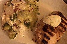 Rosenkohl - Kartoffelauflauf mit Feta - Käse