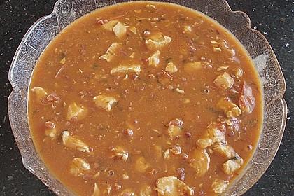 Putengeschnetzeltes in Tomatensauce 1