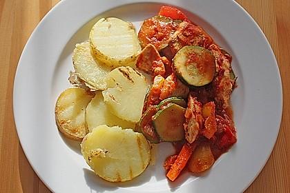 Ratz - Fatz - Gemüsepfanne 1