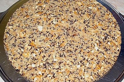 Eierlikör - Sahnetorte auf Schokoraspel - Keksboden 4