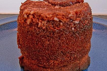 Kuchen mit schoko toffee