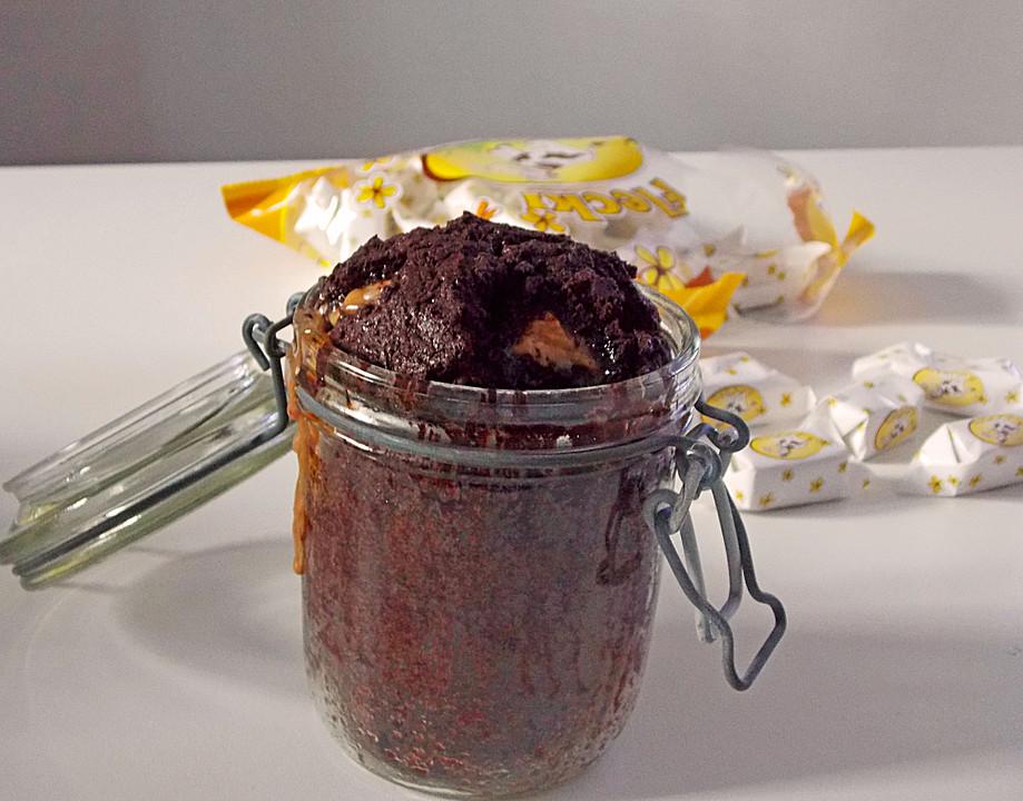 schoko toffee kuchen im glas von torte1000. Black Bedroom Furniture Sets. Home Design Ideas