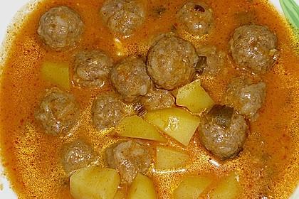 Patatesli Sulu Köfte 1