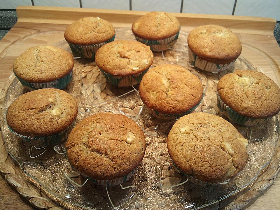 apfel marzipan muffins rezept mit bild von emandriana89. Black Bedroom Furniture Sets. Home Design Ideas