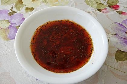 Knoblauch - Paprika - Marinade