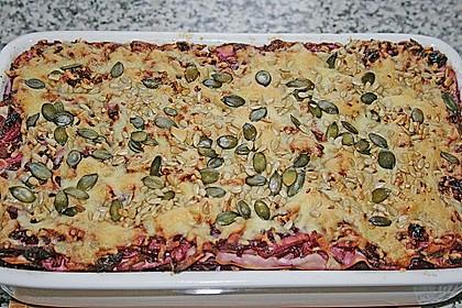 Rotkohl - Lasagne 2