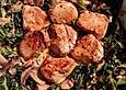 Weiwels Schweinemedaillons mit Wirsing - Champignon - Gemüse