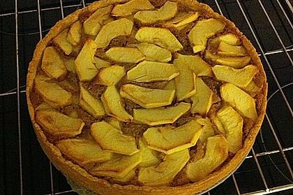Apfelkuchen mit Schmandcreme 7