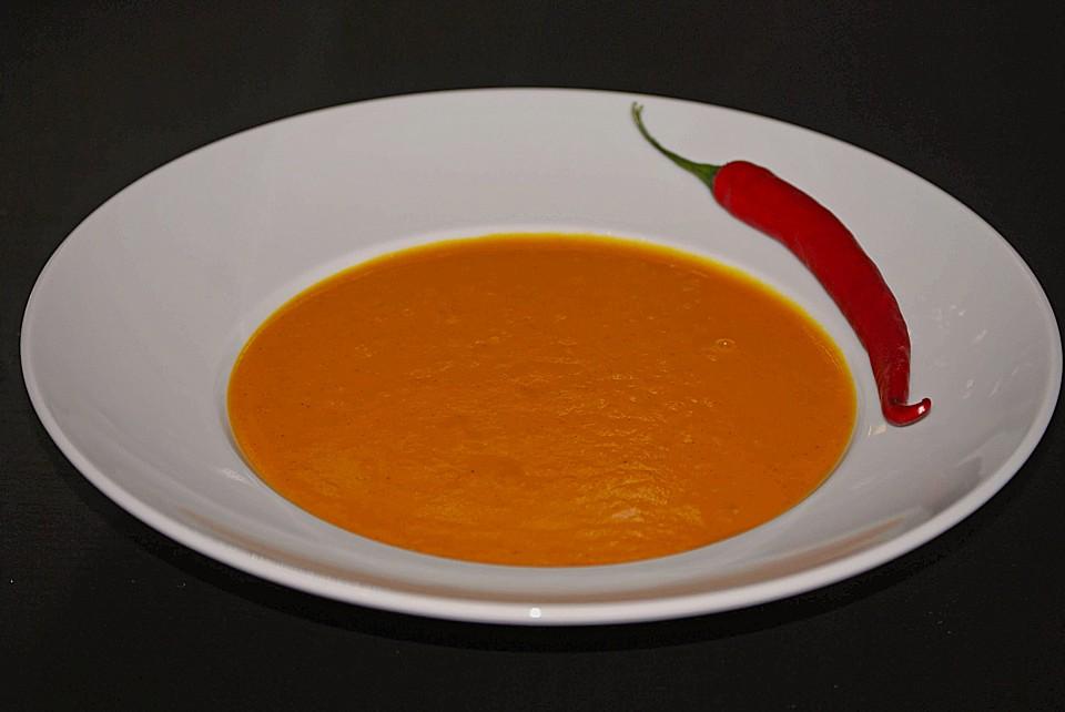 Kürbissuppe (Rezept mit Bild) von ElchForceOne | Chefkoch.de