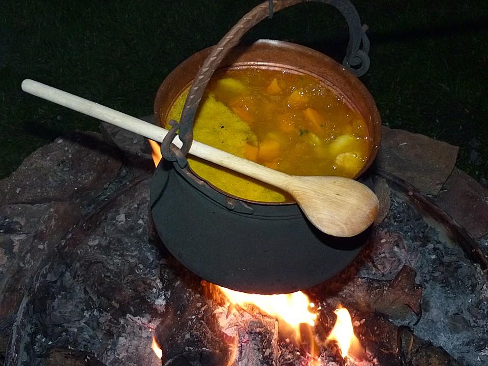Kürbissuppe rezept chefkoch  Kürbissuppe (Rezept mit Bild) von ElchForceOne | Chefkoch.de