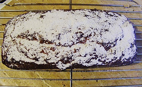 Chocolate - Chips - Banana - Cake 1