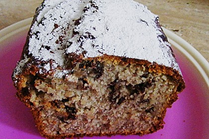 Chocolate - Chips - Banana - Cake 9