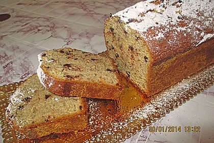 Chocolate - Chips - Banana - Cake