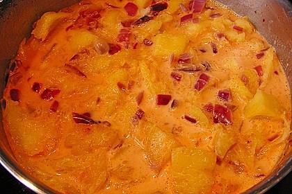 Fruchtige Kürbissuppe 11