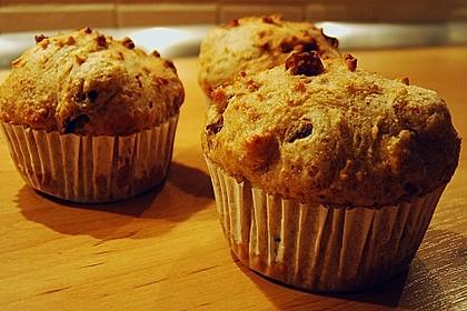Käse - Cabanossi - Muffins