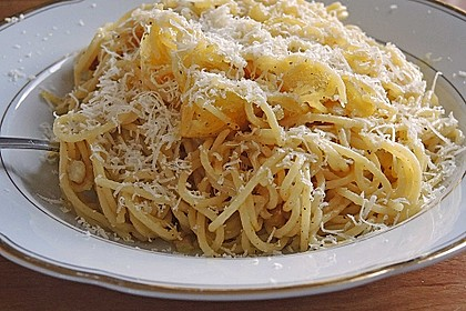Spaghetti aglio olio 20