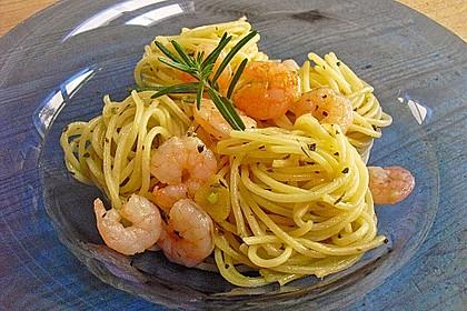 Spaghetti aglio olio 10