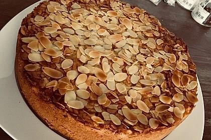 Apfelkuchen mit Mandelguss 44