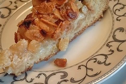Apfelkuchen mit Mandelguss 34