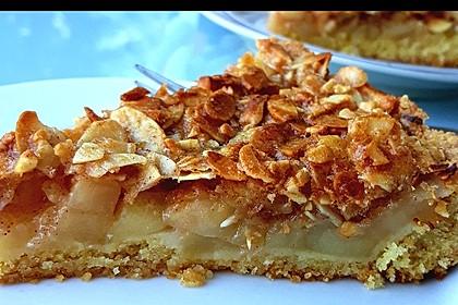 Apfelkuchen mit Mandelguss 5