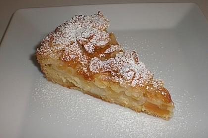 Apfelkuchen mit Mandelguss 7