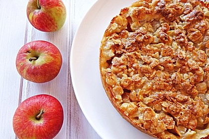Apfelkuchen mit Mandelguss 28