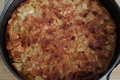 Apfelkuchen mit Mandelguss 61