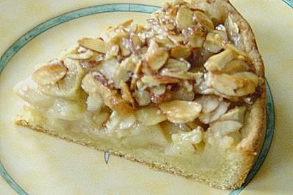 Apfelkuchen mit Mandelguss 82