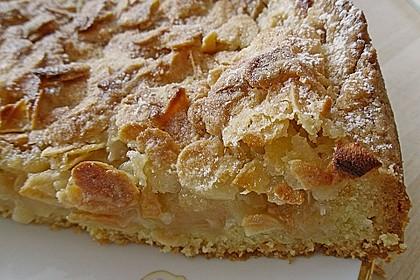 Apfelkuchen mit Mandelguss 16