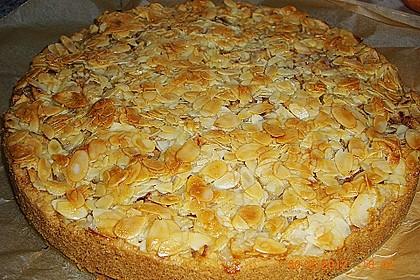 Apfelkuchen mit Mandelguss 31