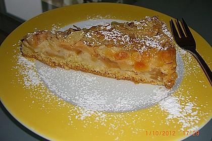 Apfelkuchen mit Mandelguss 24