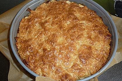 Apfelkuchen mit Mandelguss 46