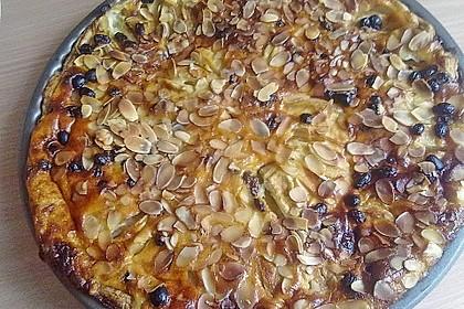 Apfelkuchen mit Mandelguss 76