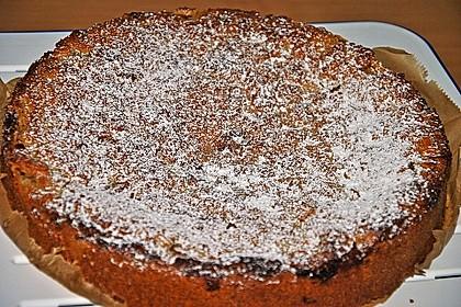 Apfelkuchen mit Mandelguss 67