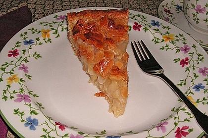 Apfelkuchen mit Mandelguss 21