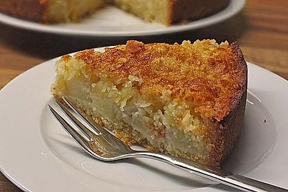 Apfelkuchen mit Mandelguss 15